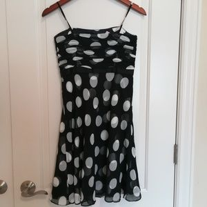 NWT Ann Taylor polkadot mini dress